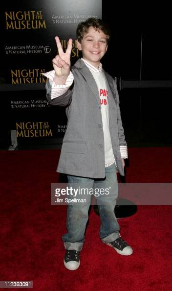 Jake Cherry during 'Night at the Museum' New York Premiere Arrivals at The American Museum of Natural History in New York City New York United States
