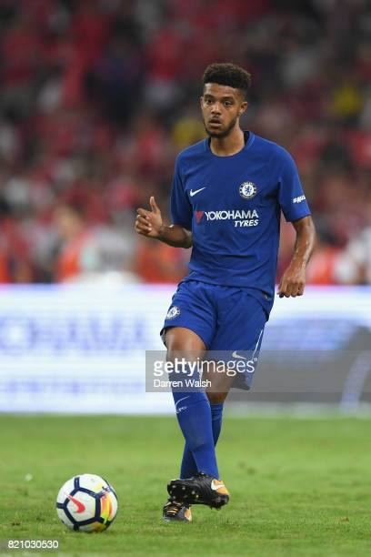Jake ClarkeSalter of Chelsea during a friendly match between Chelsea and Arsenal at Birds Nest on July 22 2017 in Beijing China
