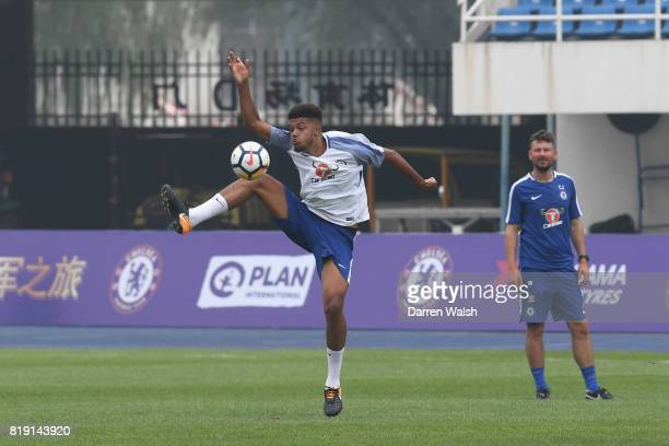 Jake ClarkeSalter of Chelsea during a training session at the AOTI Stadium on July 20 2017 in Beijing China