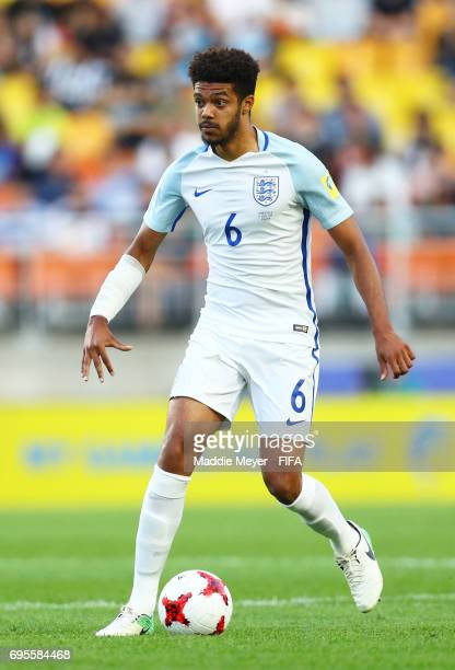 Jake ClarkeSalter of England in action during the FIFA U20 World Cup Korea Republic 2017 Final match between Venezuela and England at Suwon World Cup...
