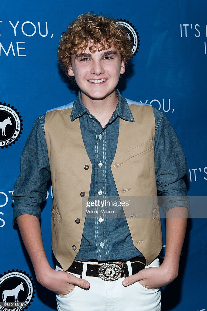 Jake Eliott arrives at the premiere of 'It's Not You, It's Me' at Downtown Independent Theatre on September 18, 2013 in Los Angeles, California.