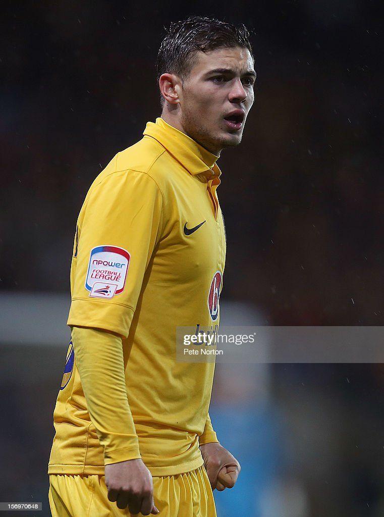 Jake Forster-Caskey of Oxford United in action during the npower League Two match between Oxford United and Northampton Town at Kassam Stadium on November 24, 2012 in Oxford, England.