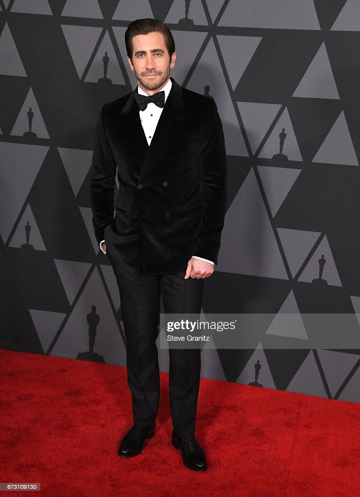 Jake Gyllenhaal arrives at the Academy Of Motion Picture Arts And Sciences' 9th Annual Governors Awards at The Ray Dolby Ballroom at Hollywood & Highland Center on November 11, 2017 in Hollywood, California.