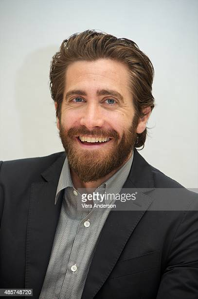 Jake Gyllenhaal at the 'Everest' Press Conference at the Four Seasons Hotel on August 27 2015 in Beverly Hills California