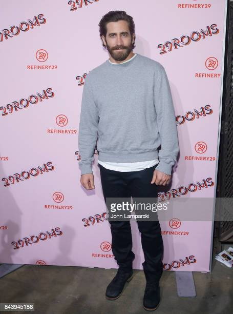 Jake Gyllenhaal attends 29Rooms opening night 2017 on September 7 2017 in New York City