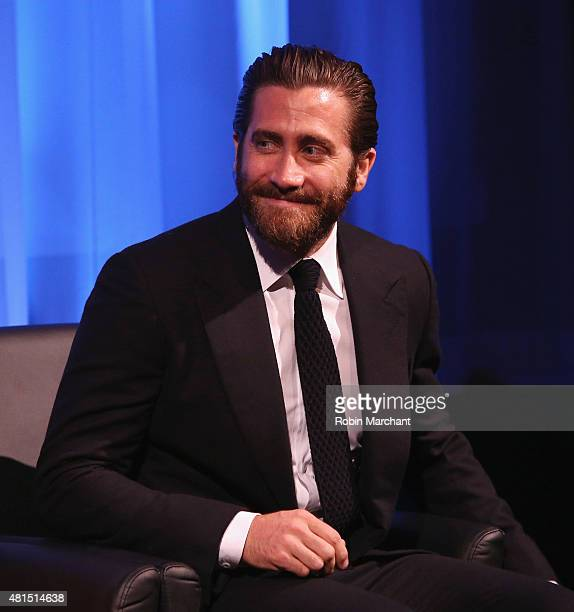 Jake Gyllenhaal attends an official Academy screening of SOUTHPAW hosted by The Academy Of Motion Picture Arts and Sciences on July 21 2015 in New...