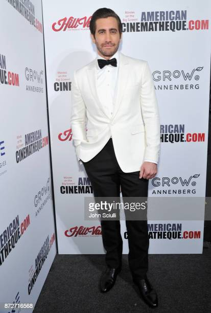 Jake Gyllenhaal attends the 31st American Cinematheque Award Presentation Honoring Amy Adams Presented by GRoW @ Annenberg Presentation of The 3rd...