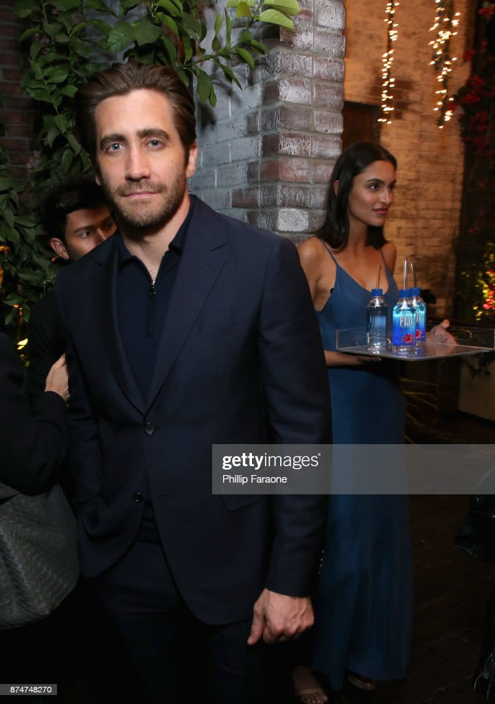 Jake Gyllenhaal attends the HFPA's and InStyle's Celebration of the 2018 Golden Globe Awards Season and the Unveiling of the Golden Globe Ambassador at Catch on November 15, 2017 in West Hollywood, California.