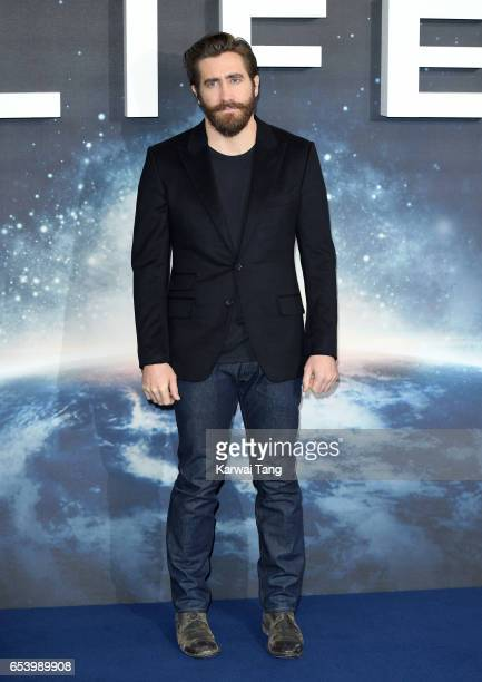 Jake Gyllenhaal attends the 'Life' photocall at Corinthia Hotel London on March 16 2017 in London England
