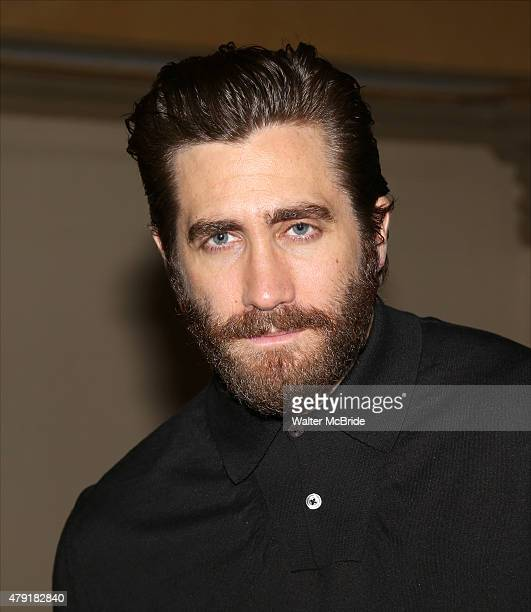 Jake Gyllenhaal attends the Opening Night After Party for the New York City Center Encores OffCenter production of 'Little Shop of Horrors' at City...