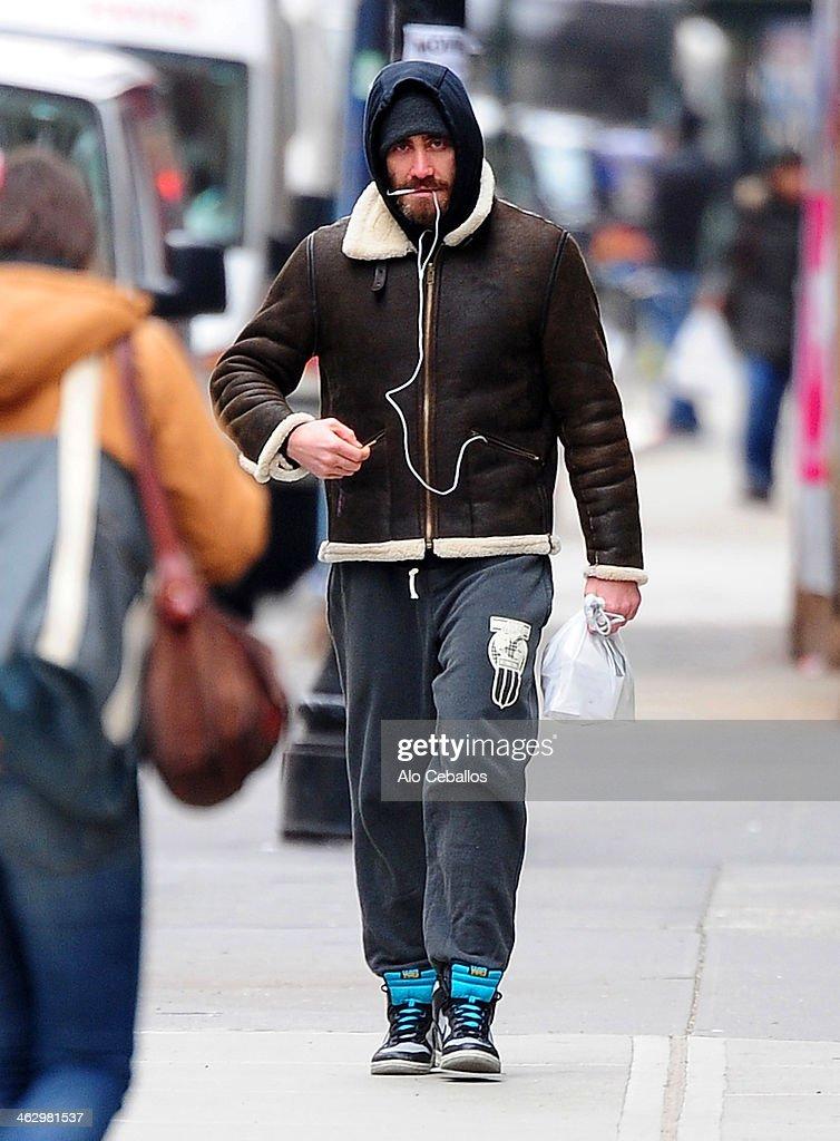 Jake Gyllenhaal Sighti... Jake Gyllenhaal Nyc
