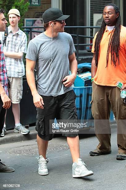 Jake Gyllenhaal is seen on July 18 2012 in New York City