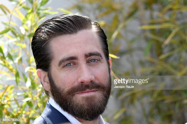 Jake Gyllenhaal is spotted arriving at 'Okja' Photocall during the 70th annual Cannes Film Festival at on May 19 2017 in Cannes France