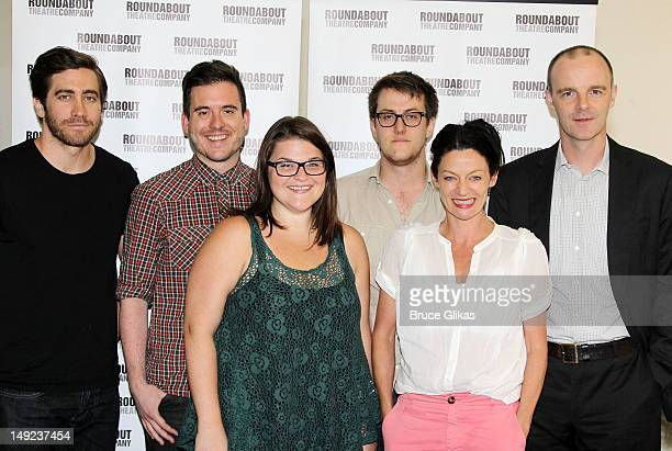 Jake Gyllenhaal playright Nick Payne Annie Funke director Michael Longhurst Michelle Gomez and Brían F O'Byrne attend the 'If There Is I Haven't...