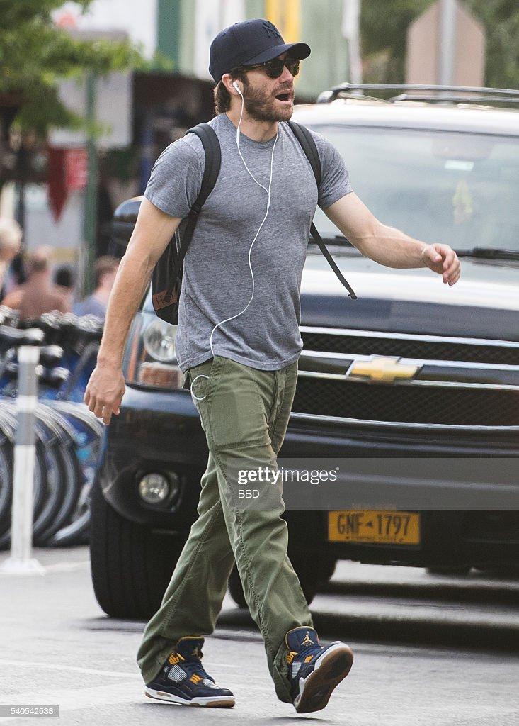 Celebrity Sightings In New York City - June 17, 2014