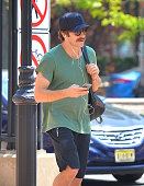 Jake Gyllenhaal seen out in Manhattan on July 22 2016 in New York City
