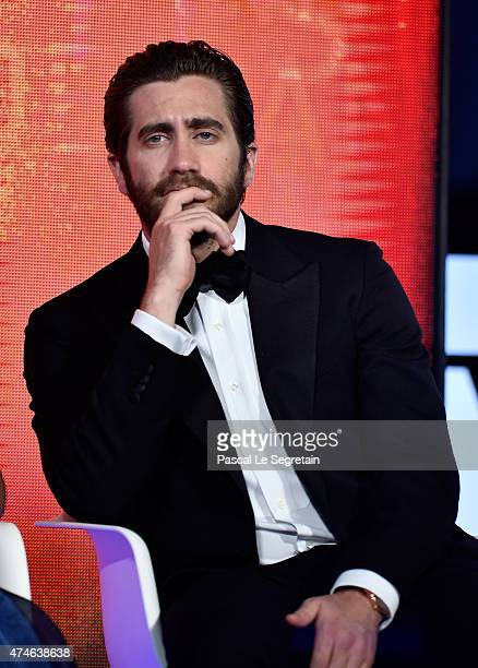 Jake Gyllenhaall attends the closing ceremony during the 68th annual Cannes Film Festival on May 24 2015 in Cannes France