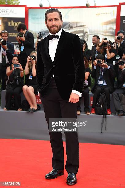Jake Gyllenhall attends the opening ceremony and premiere of 'Everest' during the 72nd Venice Film Festival on September 2 2015 in Venice Italy