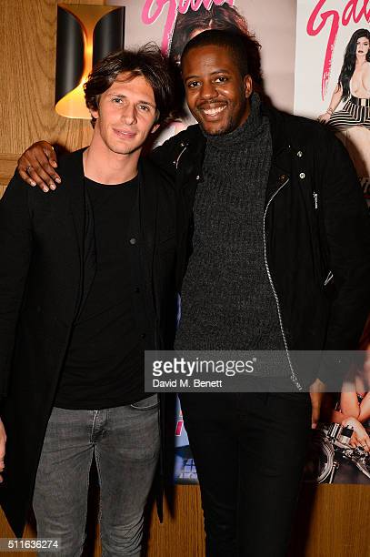 Jake Hall and Vas J Morganattends Galore's private London Fashion Week party hosted by Charli XCX to launch Kitten in the UK at The London Edition...