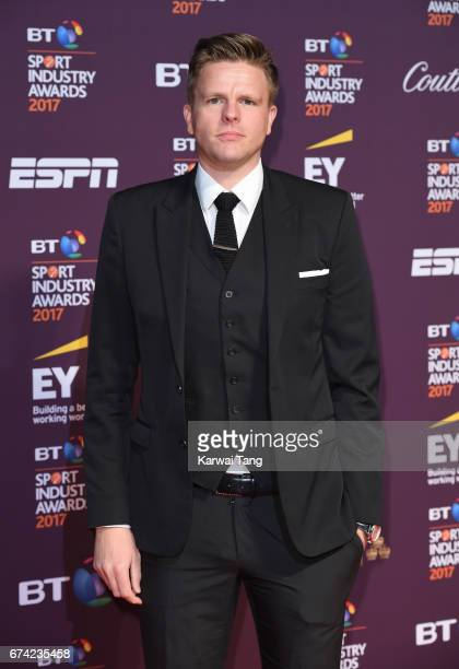 Jake Humphrey attends the BT Sport Industry Awards at Battersea Evolution on April 27 2017 in London England