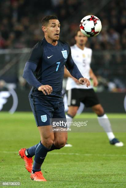 Jake Livermore of England in action during the international friendly match between Germany and England at Signal Iduna Park on March 22 2017 in...
