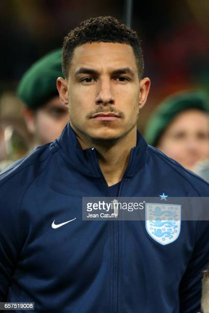 Jake Livermore of England looks on before the international friendly match between Germany and England at Signal Iduna Park on March 22 2017 in...