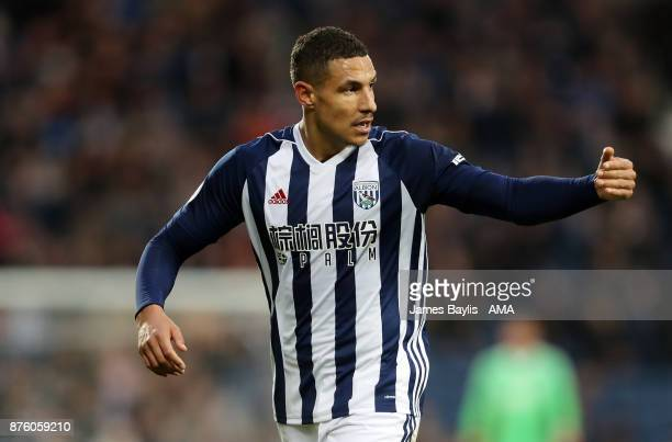 Jake Livermore of West Bromwich Albion during the Premier League match between West Bromwich Albion and Chelsea at The Hawthorns on November 18 2017...