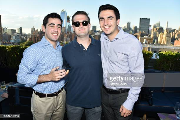Jake Machmias Steve Marrandino and Ben Parker attend The Junior Board of The TEAK Fellowship Presents A Midsummer Night at PhD Lounge at the Dream...