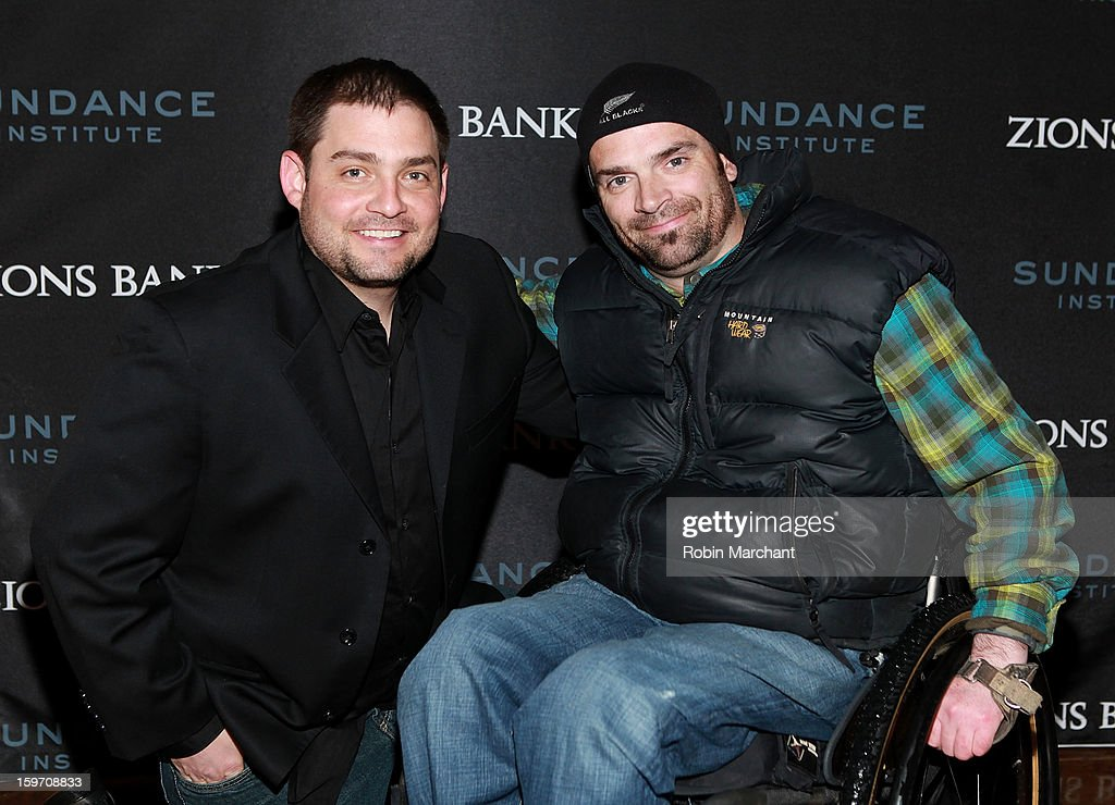Jake Manley (L) and Jason Regier attend Reception presented by Zions at Pierpont Place on January 18, 2013 in Salt Lake City, Utah.