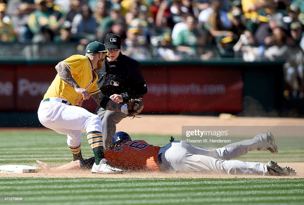 Houston Astros v Oakland Athletics s and