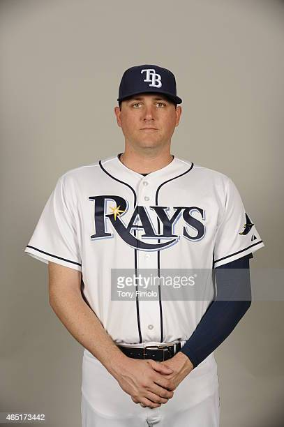 Jake McGee of the Tampa Bay Rays poses during Photo Day on Friday February 27 2015 at Charlotte Sports Park in Port Charlotte Florida