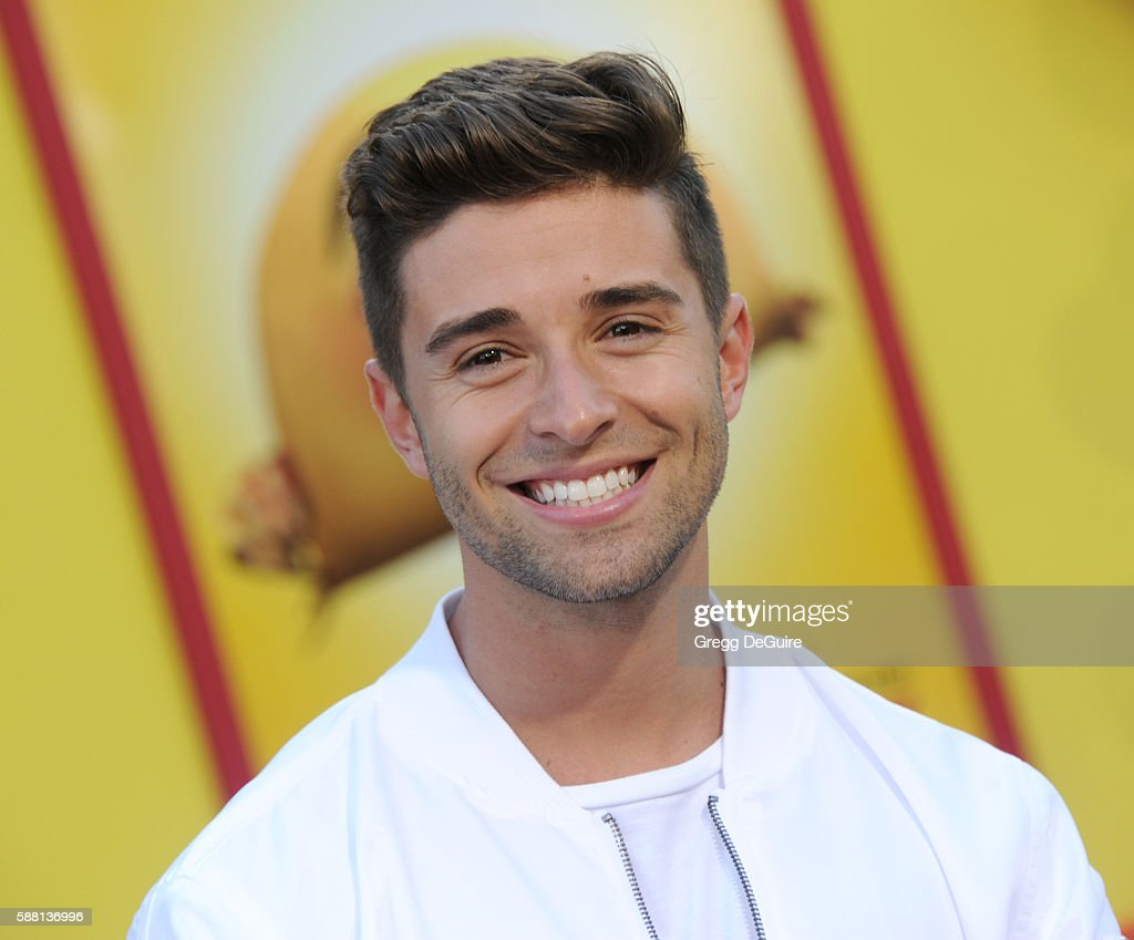 Jake Miller arrives at the premiere of Sony's 'Sausage Party' at Regency Village Theatre on August 9 2016 in Westwood California