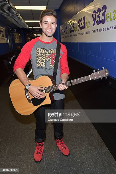 Jake Miller attends 933 FLZ's Jingle Ball 2014 at Amalie Arena on December 22 2014 in Tampa Florida