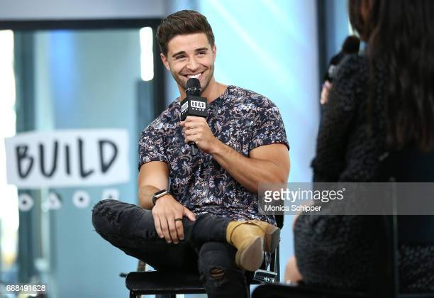 Jake Miller attends Build Series Presents Jake Miller Performing Songs From His New EP 'Overnight' at Build Studio on April 14 2017 in New York City