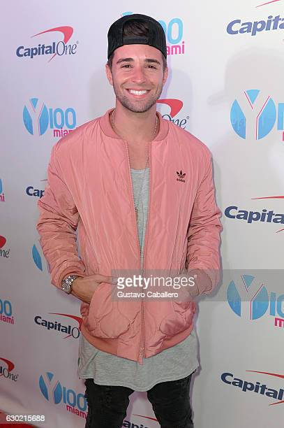 Jake Miller attends the Y100's Jingle Ball 2016 PRESS ROOM at BBT Center on December 18 2016 in Sunrise Florida