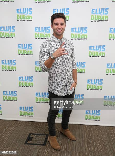 Jake Miller visits The 'Elvis Duran Z100 Morning Show' at Z100 Studio on June 15 2017 in New York City