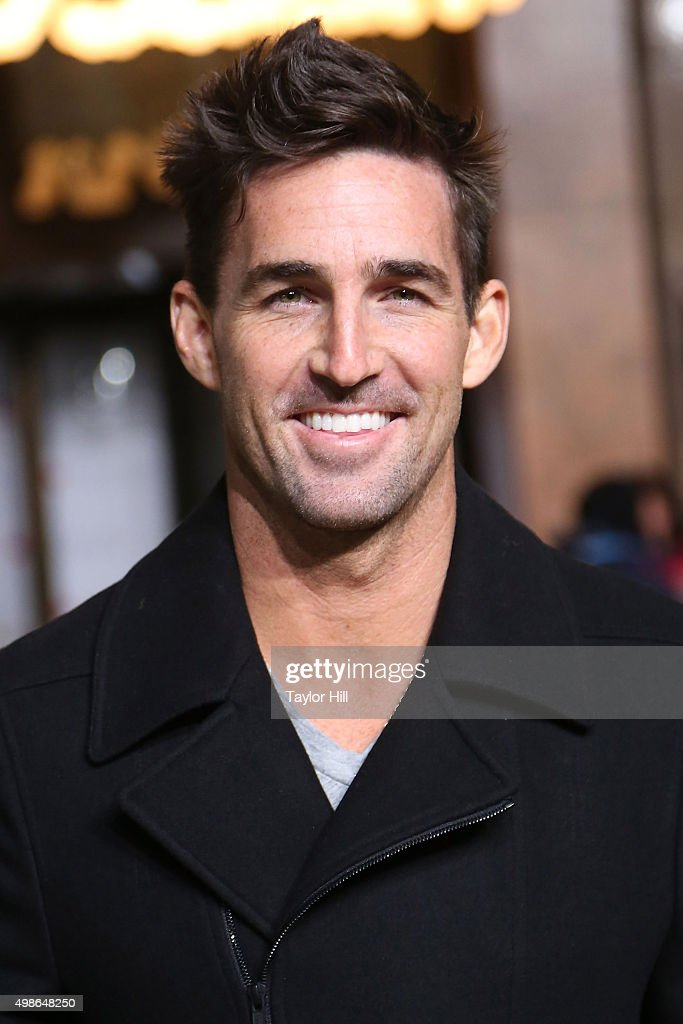 Jake Owen attends Macy's Thanksgiving Day Parade rehearsals at Herald Square on November 24, 2015 in New York City.
