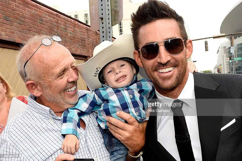 Jake Owen greets fans at the 9th Annual ACM Honors at the Ryman Auditorium on September 1 2015 in Nashville Tennessee