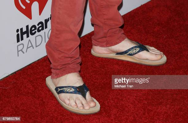 Jake Owen shoe detail attends the 2017 iHeartCountry Festival held at The Frank Erwin Center on May 6 2017 in Austin Texas