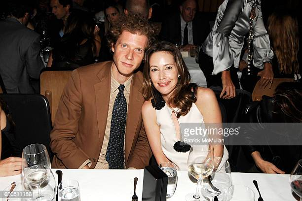 Jake Paltrow and Samantha Boardman Rosen attend Opening of LIZA LOU's 'Maximum Security Fence' at LEVER HOUSE at Lever House on September 24 2008 in...