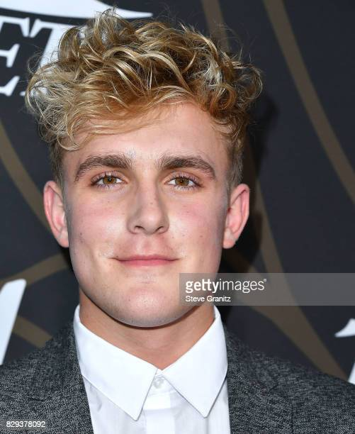 Jake Paul arrives at the Variety Power Of Young Hollywood at TAO Hollywood on August 8 2017 in Los Angeles California