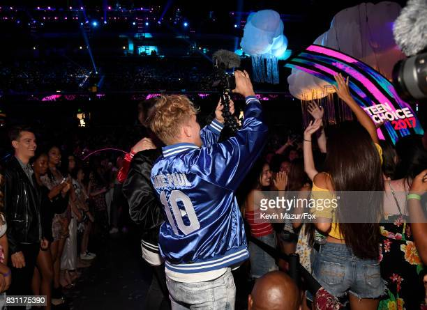 Jake Paul attends Teen Choice Awards 2017 at Galen Center on August 13 2017 in Los Angeles California