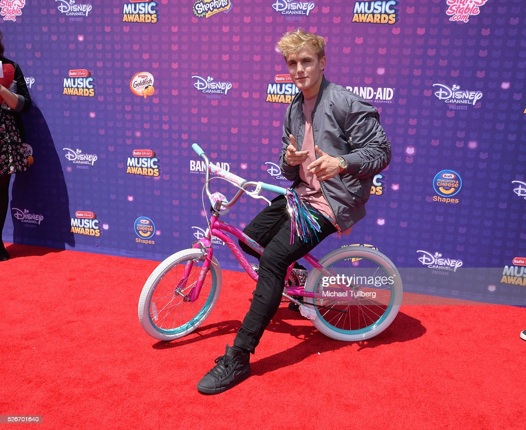 Jake Paul attends the 2016 Radio Disney Music Awards at Microsoft Theater on April 30, 2016 in Los Angeles, California.