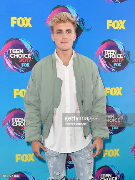 Jake Paul attends the Teen Choice Awards 2017 at Galen Center on August 13 2017 in Los Angeles California