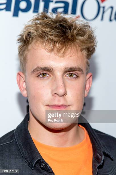Jake Paul attends Z100's iHeartRadio Jingle Ball 2017 at Madison Square Garden on December 8 2017 in New York City