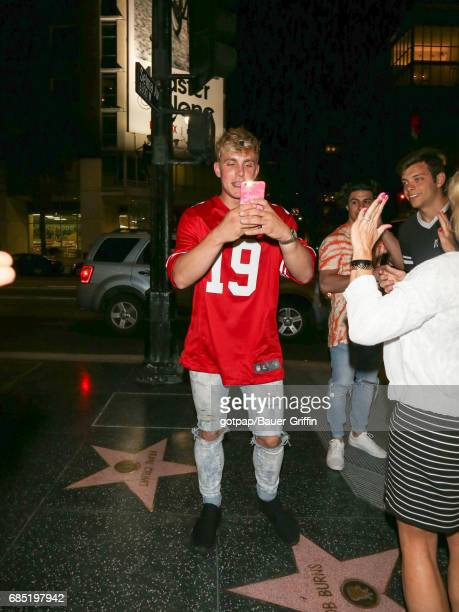 Jake Paul is seen on May 18 2017 in Los Angeles California