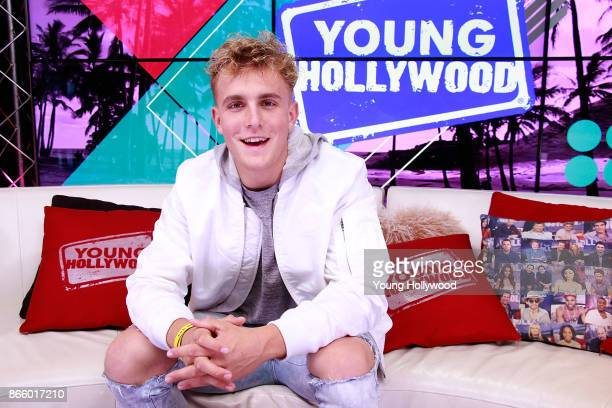 Jake Paul visits the Young Hollywood Studio on October 23 2017 in Los Angeles California