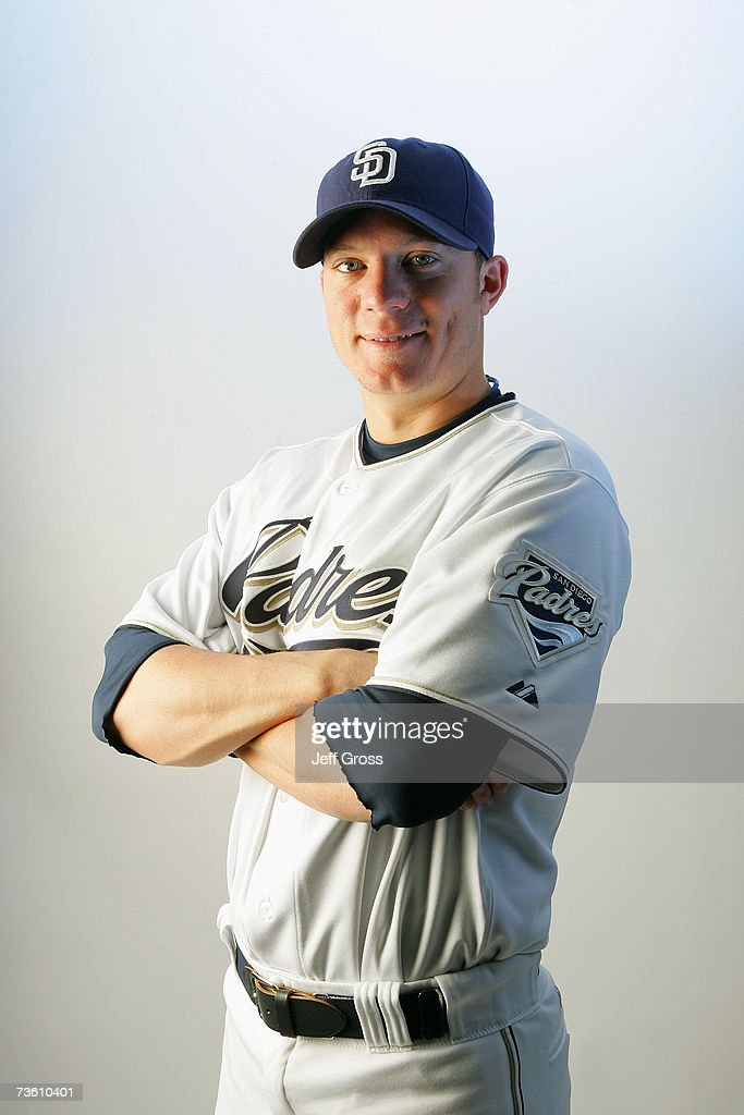 Jake Peavy of the San Diego Padres poses for a portrait during San Diego Padres Photo Day at the Peoria Sports Complex on February 23, 2007 in Peoria, Arizona.