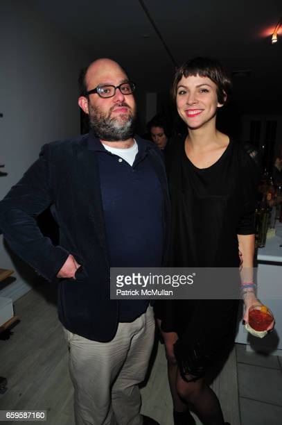 Jake Perlin and Jennifer Murray attend HBO Premiere of Alexander Olch's THE WINDMILL MOVIE at Private Residence on October 28 2009 in New York