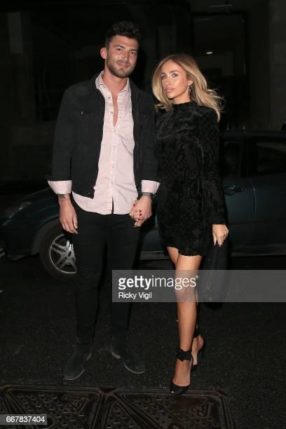 Jake Quickeden attends James Ingham's JogOn to Cancer part 5 at Kensington Roof Gardens on April 12 2017 in London England
